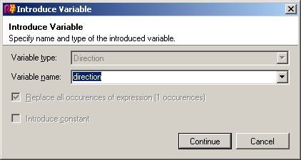 ReSharper's Introduce Variable refactoring dialog, accessed through Ctrl+Shift+R